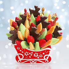 christmas fruit arrangements edible arrangements christmas baskets who said nothing in