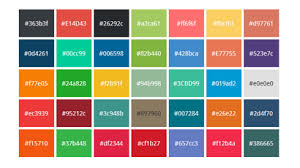 color codes css colors and css color codes to use on your website blog by