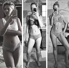 Want To Enjoy Post Pregnancy Katherine Heigl Flaunts Post Baby In Selfies Daily