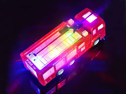 go lights for trucks amazon com wolvol electric fire truck toy with stunning 3d lights