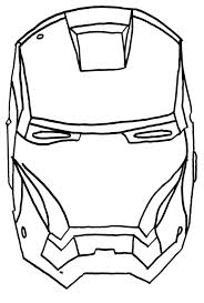 iron man mask iron man face coloring pages iron man helmet