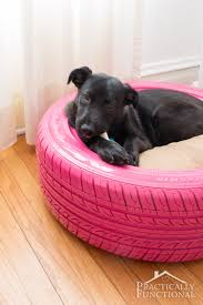 Best Dog Bed For Chewers Diy Dog Bed From A Recycled Tire Dog Beds Dog And Diy Dog Bed
