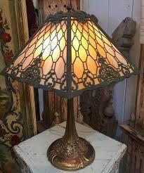 Antique Double Desk Lamp
