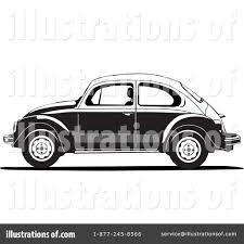 volkswagen bug clip art vw beetle clipart 1181600 illustration by david rey