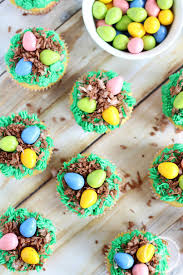 Easter Decorated Cupcakes by Bird U0027s Nest Cupcakes