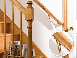 What Is A Banister On Stairs How To Install A Stair Handrail Diy Home
