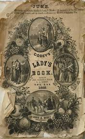 doll s cap pattern from june 1858 godey s s book sleeping