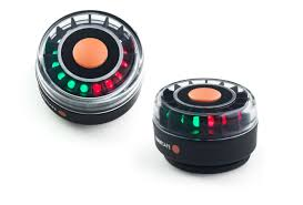 magnetic battery operated led lights boat navigation light led three color masthead navilight
