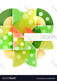 circle layout vector geometric abstract composition circles layout vector image