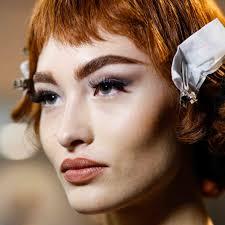 the best makeup looks at milan fashion week spring 2017 makeup