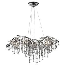 Upside Down Crystal Chandelier Willa Arlo Interiors Destrie Crystal Chandelier U0026 Reviews Wayfair