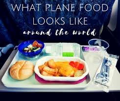 this is what plane food looks like around the world