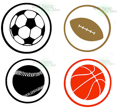 decorating with wall vinyl boy u0027s room wall decor sports ball decals