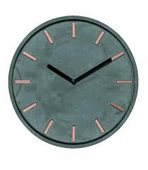 Horloge Murale Ronde Blanche Avec Horloge Murale Ronde Noir En Bois Et Chiffres Multicolores