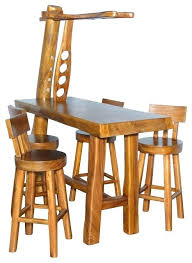 Rustic Bistro Table And Chairs Rustic Pub Table Reclaimed Pub Tables Rustic Counter Height Table