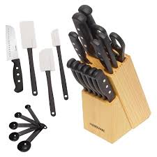 kitchen knives that never need sharpening farberware never needs sharpening 22 piece cutlery set target