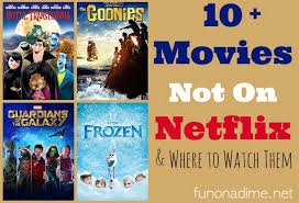 frozen and 9 movies not on netflix and where to watch them fun