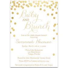 baby brunch invitations baby and brunch gold baby shower invitation the invite