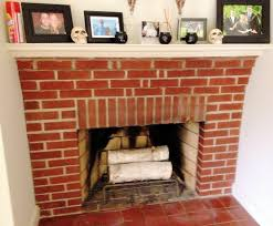 Fireplace Brick Stain by Brick Fireplace White Stain Ideas Home Fireplaces Firepits