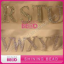 rhinestone letter stickers diamond rhinestone alphabet letters self adhesive sticker free