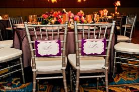 Bride And Groom Chair Signs Trend Watch Mr U0026 Mrs Chair Signs Disney Weddings
