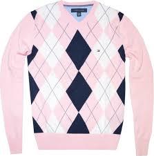 tommy hilfiger pullovers tommy hilfiger men argyle pink 39 99