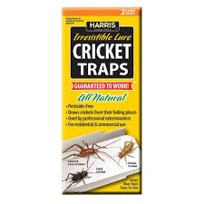 harris cricket traps with 25 irresistible lures 2 pack ctrp