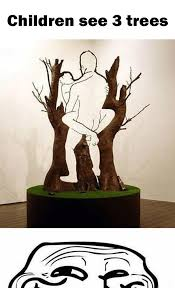 children see 3 trees a mind won t the made me