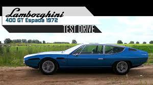 vintage lamborghini 400gt lamborghini 400 gt espada 1972 full test drive in top gear v12