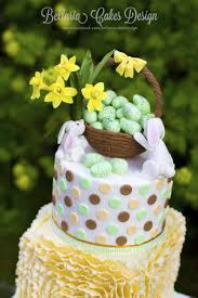 ruffles easter cake cakecentral com