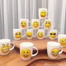 office coffee mugs emoji ceramic mug cute cartoon face expression office coffee mug