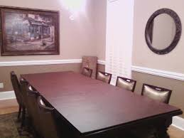 nice dining rooms mesmerizing dining room table cover pads in diy home interior