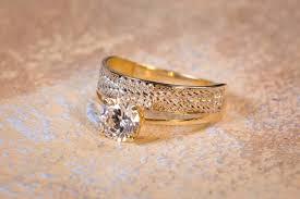 inele aur aur si argint aec inel aur bijuterie cu zirconia model deosebit