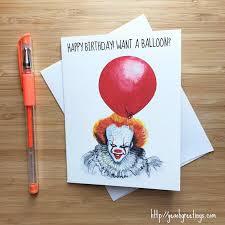top creepy clowns birthday party anyone horror killer clown birthday card creepy clowns birthday clowns