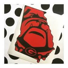 uga alumni sticker graduation decal uga alumni any school any color car decal