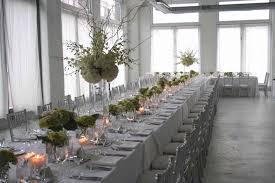 mariage et blanc décoration de mariage argent