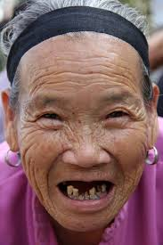 Chinese Lady Meme - photo a very smiling and toothless old chinese lady