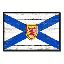 Home Decorations Canada by Nova Scotia Province City Canada Country Vintage Flag Home Decor