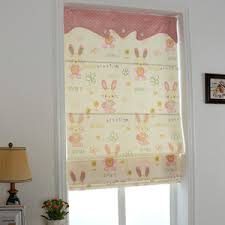 Kids Roman Shades - modern plaid room darkening roman shade curtains