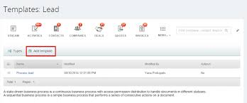 assign leads automatically using a business process