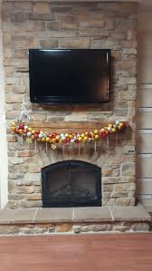 12 best stone fireplace holiday decorations images on pinterest