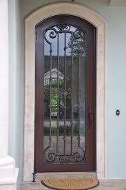 Metal Front Doors For Homes With Glass by Wrought Iron Entry Doors Custom Iron Doors Bronze Doors