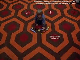 Pentacle Rug Kubrick U0027s The Shining Wednesday Part One