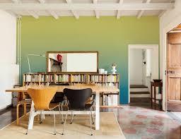 Wohnzimmer Einrichten Grau Gelb Wände In Sanftem Grün Im Wohnzimmer Bild 8 Living At Home
