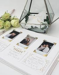 poloroid guest book polaroid wedding guest book wedding photography