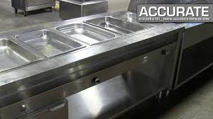 steam table with sneeze guard 5 well steam table refurbished youtube