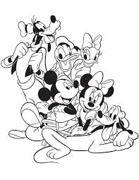 lego friends coloring page mickey mouse and friends coloring pages coloringpages321 com