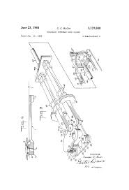 Overhead Door Closer Adjustment by Patent Us3137888 Concealed Overhead Door Closer Google Patents