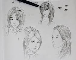 girls sketch by plsn on deviantart