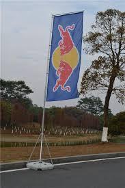 Beach Flag Pole Custom Wholesale Square Flag Advertising Flag Beach Flag Pole